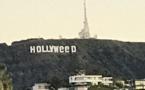 "Le panneau Hollywood devient mystérieusement ""Hollyweed"""