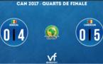 CAN 2017 - Le Sénégal est eliminé  quart de finale