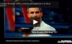 VIDEO - CRISTIANO RONALDO SIFFLÉ, IL INSULTE LES SUPPORTERS DU REAL MADRID