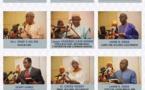 L'image des nouveaux ministres du gouvernement Barrow qui ont prêté serment