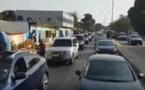 Vidéo: L'impressionnant cortège de Macky Sall en Gambie
