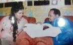Maya Diagne et son mari Ahmad Khalifa Niasse avec leur joli petit bébé, regardez