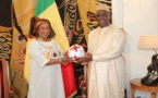 Fatma Samoura reçu au palais par Macky Sall