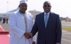 Adama Barrow de retour au Senegal