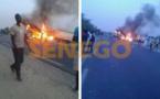 PHOTOS - Choc entre un minicar et un camion citerne de carburant: aucun survivant, 15 morts calcinés