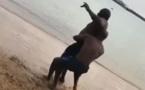 Booba publie la vidéo du combat de lutte entre Lac de Guiers 2 et … Regardez