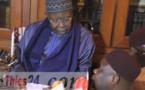 Le téléphone de Doudou Keinde Mbaye sonne devant Al Amine. Regardez sa réaction