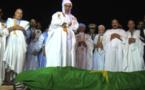 Vidéo Mauritanie : Les images de la prière mortuaire de l'ex-président Ely Ould Mohamed Vall .Regardez
