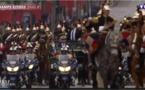 Un accident évité de justesse lors de l'investiture du président frnaçais Emmanuel Macron. Regardez !