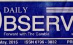 Gambie – Média: Adama Barrow ferme le « Daily Observer »