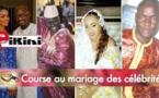 Course au mariage des célébrités