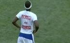 Match Mbalaxmen vs Rappeurs : Birane Ndour marque un magnifique but et passe un message fort