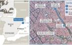 La Rambla, coeur battant de Barcelone, touché par le terrorisme