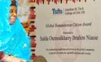 Récompense : Une université américaine récompense Sayda Oumoul Khairy Niasse