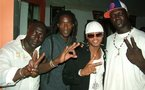 [ PHOTO ] Diouf, Mame Goor et le lutteur Thiek