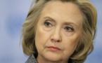 Hillary Clinton, candidate à la présidence des Etats-Unis