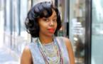 La Sénégalo-mauritanienne, blogueuse beauté et ambassadrice de l'Oréal Paris, Fatou N'Dia