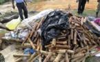 Près de 300 kg de chanvre indien et de médicaments contrefaits incinérés à Kaffrine