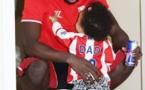 Photos – L'international Mame Biram Diouf et sa fille en parfaite harmonie