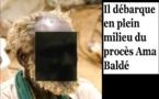 Un homme mystérieux débarque au procès de Ama Baldé…Il fait des choses bizarres puis …