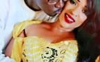Photos-L'animatrice de la TFM, Mado Diaw et son mari en amoureux. Regardez