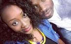 La sublime Zakhra Mbow très collée à son « époux » Pape Cheikh Diallo