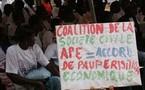 MANIFESTATION A BRUXELLES CONTRE LES APE: La galère des marcheurs Dakarois