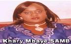 FLASH SUR... Khary Mbaye SAMB