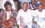 Photo de Feu Moussa Ngom et Oumar Pène prise hier soir au Just4U