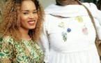 Rama Aidara, la nouvelle mariée en intimité avec Mariéme Faye Sall