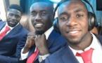 Le selfie glamour de Pape Ndiaye Souaré avec son coéquipier Yannick Bolasie