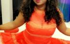 Look ultra élégant pour Aicha Diouf dans sa robe