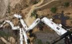 Un train transportant 200.000 litres d'acide sulfurique déraille en Australie