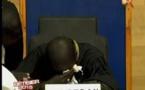 """[VIDEO] Quand le """"persidan"""" verse de chaudes larmes en plein tournage"""