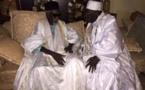 (3 photos): Serigne Abdoul Aziz Sy Al Amine a présenté ses condoléances au khalife des Mourides