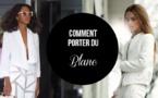 3 points à prendre en compte lorsqu'on choisit de s'habiller en blanc