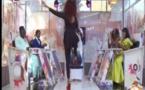 Vidéo: Cette danse osée de Adiouza, qui a failli chuter…