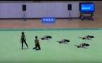 Cette troupe de danse asiatique présente une chorégraphie de haute facture avec une précision chirurgicale.