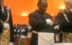 Vidéo-Gabon : Franc-Maçonnerie, intronisation d'Ali Bongo Odimba en 2010. Regardez