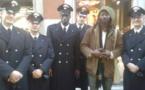 3 photos-El Hadji Guèye un Sénégalais dans la police italienne