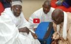 """VIDEO DE LA VALISE D'ARGENT: Serigne Mountakha Mbacké donne 100 millions Fcfa de """"adiya"""" au khalife (EN ESPECE)"""