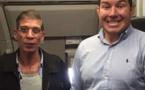 """Le """"meilleur selfie de tous les temps"""" avec le pirate de l'air du vol EgyptAir"""