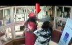 2 belles filles entrent dans une boutique orange et volent 2 portables dernier cri