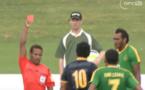 [ Video] Six cartons rouges et onze jaunes: un match dingue à Auckland