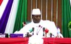 VIDEO - Jammeh en colère contre ses compatriotes à son retour... ECOUTEZ LE A SON ARRIVEE...