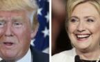 Victoires écrasantes de Donald Trump et Hillary Clinton aux primaires de New York