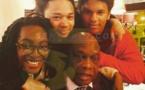 Amath DANSOKHO heureux avec ses petits enfants