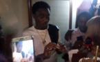 Vidéo- l'anniversaire de Wally Seck, sa femme lui offre une bague en diamant