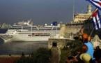 Un navire américain accoste à Cuba, une première en 50 ans
