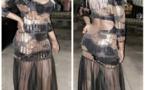 PHOTOS - GuiGui dans une tenue torride et transparente pour mettre ses formes en valeur